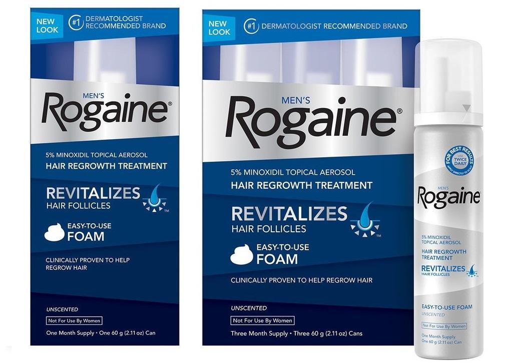 ミノキシジル外用薬(ロゲイン)
