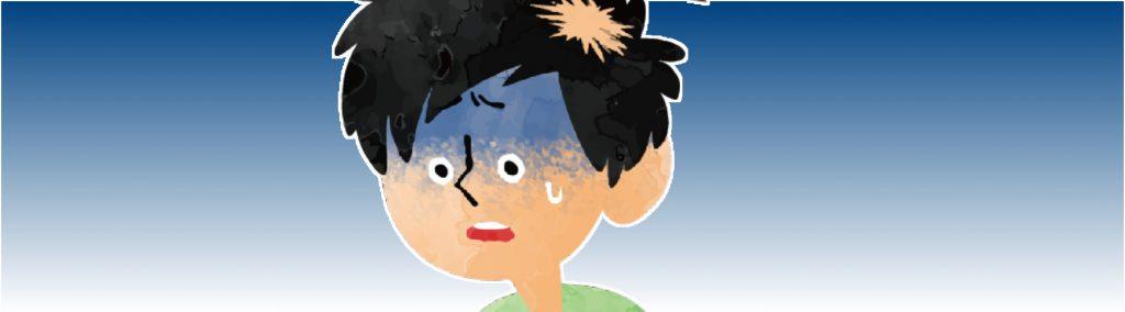 薄毛の原因 円形脱毛症